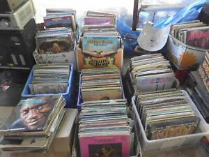 Vinyl Records- Huge Clearance Sale! 1 Crate of 20 LP'S (Only $2.50 each!)