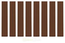 8x LEGO® 6636 1x6 Fliese braun reddish brown NEU