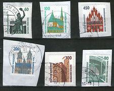 Gestempelte ungeprüfte Briefmarken aus Deutschland (ab 1945) mit Bauwerks-Motiv