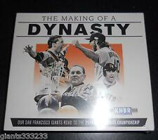 new seal SF GIANTS CD THE MAKING OF A DYNASTY NARRATED by JOHN MILLER Road to WS