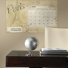 CALENDAR GIANT WALL STICKER decal home office college dorm dry erase PARIS theme