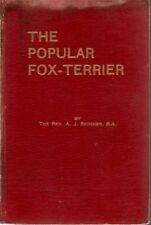 Popular Fox Terrier, Skinner, 1st edn, 1926, SCARCE