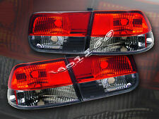 Fit For 1996-2000 Honda Civic Tail Lights Red Smoke 2D Coupe 99 98 97