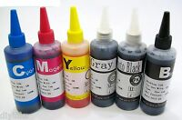 6 Pack Compatible Refill INK SET For Canon PIXMA MG6120 MG6220 MG8120 MG8220