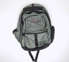 Vintage 90's Polo Sport Ralph Lauren Gray Backpack Expandable Book Bag Flag