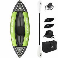 Aqua Marina Inflatable Laxo Kajak Kanu Kayak 1er | 2er | 3er Boot Freizeit SET