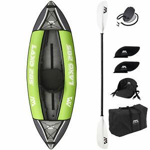 Aqua Marina Inflatable Laxo Kajak Kanu Kayak 1er   2er   3er Boot Freizeit SET