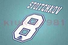 Barcelona Stoitchkov #8 1996-1997 Homekit Nameset Printing