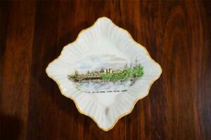 Vintage J&G Meakin Pin Dish/Butter Dish 'View of Melbourne from River Yarra'