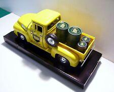 1955 Ford F-100 BP Delivery Pickup Custom Graphics Diecast Pickup + Fuel Barrels