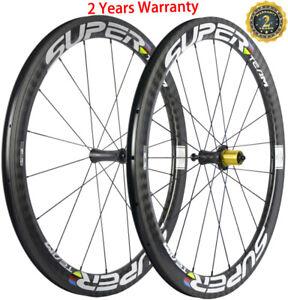 UCI Approved 50mm 25mm U Shape Carbon Wheels Ceramic Bearing R7 Carbon Wheelset