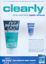 King Of Shaves Alphagel DDS 1999 Magazine Advert #4211