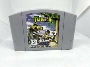 Turok: Dinosaur Hunter N64 (Nintendo 64, 1997) Authentinc, Cleaned & Working!