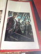 Harry Potter e il principe mezzosangue (2009) 33x70cm Poster Prima Ed. ITA