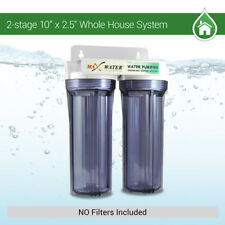"""Whole House /Home/Pool/Well Water Filter System 10"""" x 2 1/2"""", 3/4"""" Inlet"""