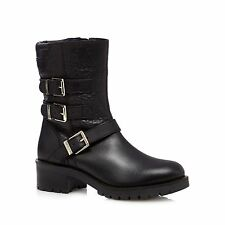 Faith Zip 100% Leather Upper Boots for Women