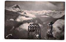 vallée d'ossau  descente du téléférique d'artouste dans les nuages