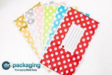 Printed Polka Dot Mailing Bags Strong Self Seal Strip