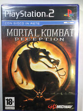 Mortal Kombat:Deception PS2 prima release nuovo sigillato sealed new rare midway