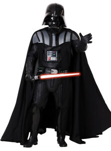 Licensed Supreme Edition Mens Star Wars Darth Vader Costume Genuine Rubies - New