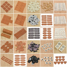 Handmade PU Leather Cloth Labels Tag DIY Sewing Clothing Bag Accessories Craft