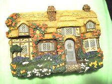 Cozy Glen Cottage by Violet L Schwenig, Franklin Mint, ltd ed., hand painted box
