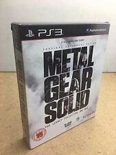Metal Gear Solid The Legacy Collection complete - Sony Playstation 3 TESTED UK