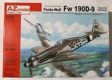 """AZ Models 1/72 Scale, Focke-Wulf FW-190D-9 """"Special Marking"""" (w/resin pts) #7499"""