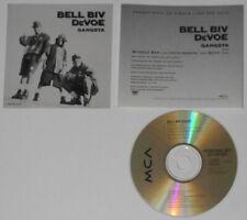 Bell Biv Devoe - Gangsta x4  - original 1992 U.S. promo cd