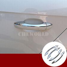 8X Chrom Tür Griff Außentürgriffe Rahmen Zierleisten Für Audi Q5 8R 2009-2015