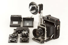 "Graflex Crown Graphic 4x5"" outfit (5 Lenses) // 21357,1"