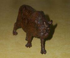 HAND CARVED WOOD CARVING LEOPARD JUNGLE CAT WOODEN FIGURE MPINGO KEREWE FOLK ART