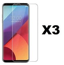 LOT OF 3 CLEAR TEMPERED GLASS FILM SCREEN GUARD PROTECTOR FOR LG V30