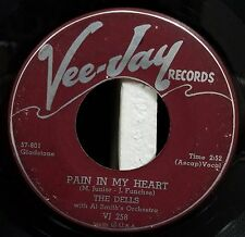 Dells / R&B / DooWop 45 / Pain in My Heart / Time Makes You Change / Vee-Jay