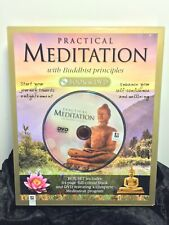 PRACTICAL MEDITATION, WITH BUDDHIST PRINCIPLES, BOOK AND DVD