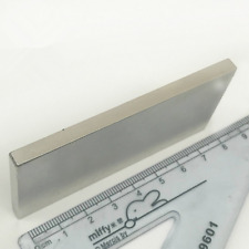1pcs Silver Test Magnet NEW Neodymium N52 Check Metal Sterling Scrap 80×40×5mm