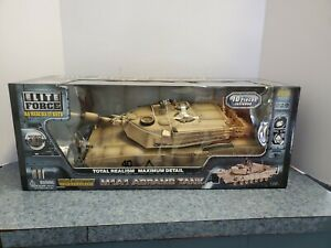 Elite Force M1A1 ABRAMS TANK 1:18 MODEL- NIB