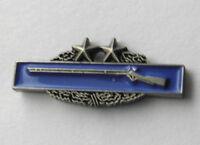 ARMY COMBAT INFANTRY BADGE 3RD AWARD CIB SMALL MINI LAPEL PIN 3/4 INCH