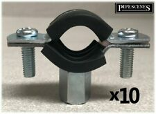 10 x 15mm Rubber Lined Munsen Ring Clip Anti Vibration by Talon