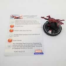 Heroclix Web of Spider-Man set Doppelganger #062 Chase figure w/card!