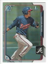 2015 Bowman Chrome Prospects Refractors #BCP97 Victor Reyes 004/499 Braves