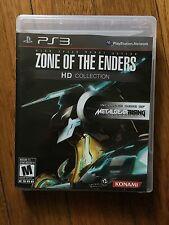 Zone of the Enders HD Collection PS3 (Sony PlayStation 3, 2012) Complete
