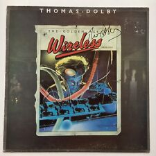 THOMAS DOLBY - THE GOLDEN AGE OF WIRELESS HAND SIGNED  RECORD AUTOGRAPHED