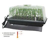 Seedling Humidity Clone Dome Kit w/ Tray, 72 Site Insert, Heat Mat Combo Kit
