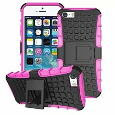 For Alcatel POP 4 5051 New Shock Proof Stand Phone Case Cover PINK