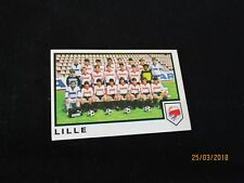 LILLE  LOSC   Equipe Image sticker N° 98  FOOTBALL 85 PANINI 1985