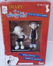 New Diary of a Wimpy Kid Greg Rodrick Heffley Mini Action Figures Skate board