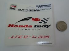 2015 Honda Indy Toronto IndyCar Event Race Collector Decal Josef Newgarden