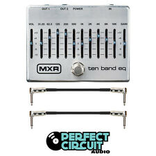 MXR M108S 10-Band Graphic EQ Pedal EFFECTS - NEW - PERFECT CIRCUIT