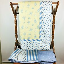 3 Piece Bananafish Crib Bedding Set Blanket Comforter Dust Skirt Sheet Nursery